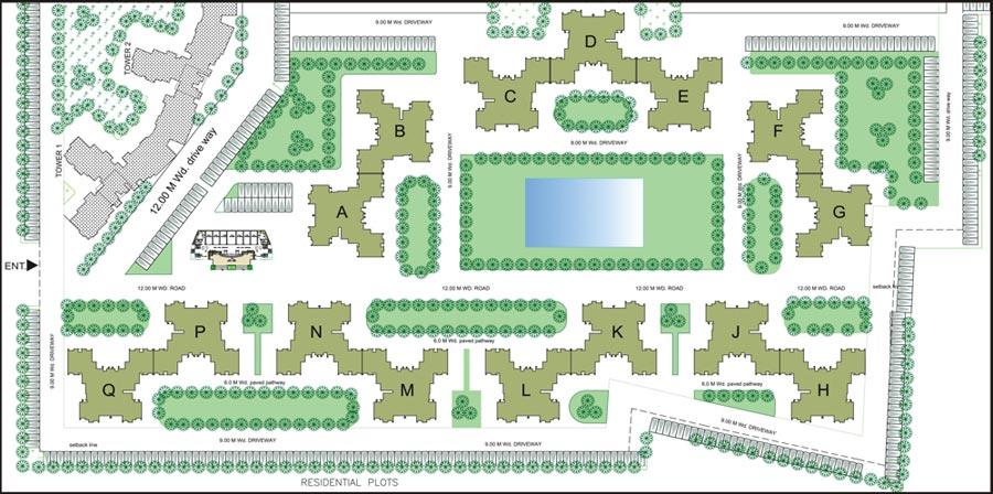 Enclave Appartments Makdv Project Fortune Empire Kamla Enclave Kamla Homes Bahria Enclave